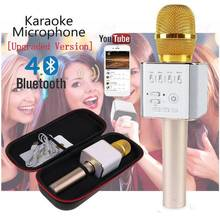Itek Portable Wireless Condenser Bluetooth Magic Karaoke Microphone Speaker USB Home KTV Player Microphones for iPhone Android