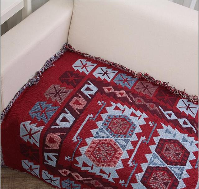 Double Sided Sofa Blanket