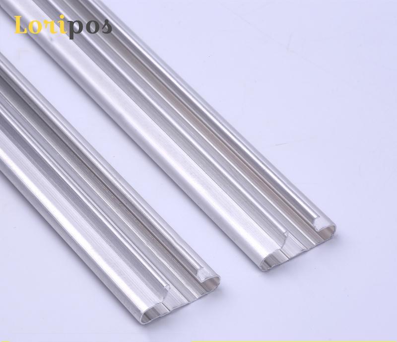 Ambitieus T Slot Rail Universele Slat Pole Strips Wandmontage Plank Montage Aluminium Beugel Voor Hanger Haken Winkel Meubels Accessoire