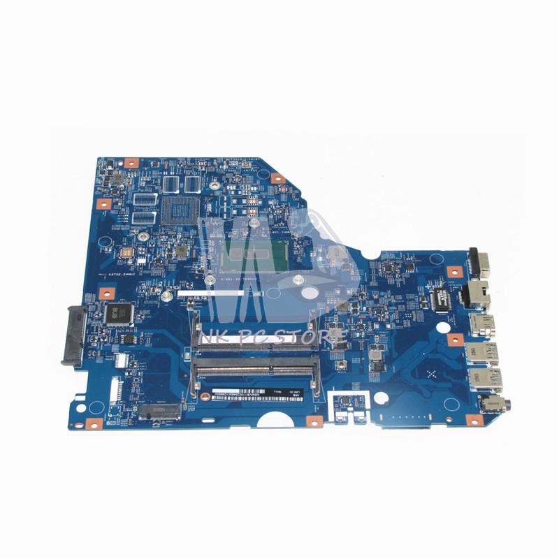 US $263 12 12% OFF|NOKOTION NBMVB11002 NB MVB11 002 For Acer aspire E5 772  E5 772G Laptop motherboard 448 04X09 001M SR23Y I5 5200U DDR3L-in