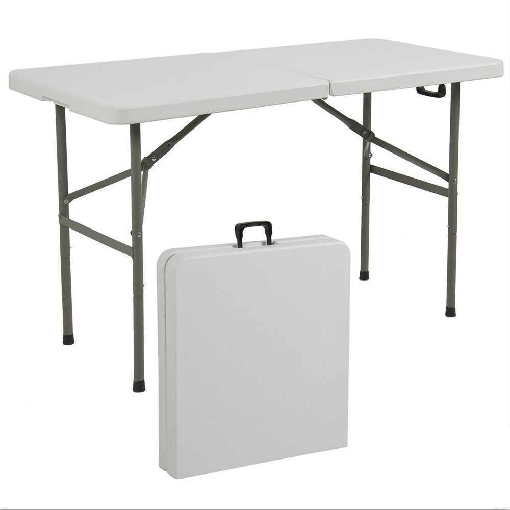 - Outdoor Picnic Party Dining Camp Tables Folding Table 4' Portable
