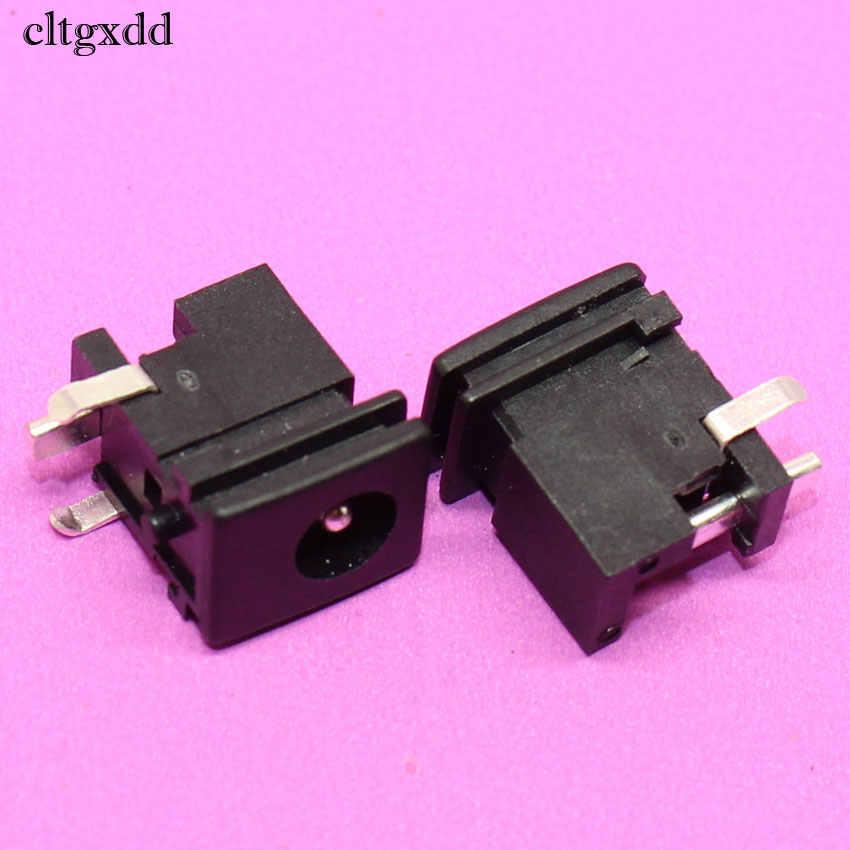 Cltgxdd 5.0*1.65mm gniazdo zasilania DC złącze przełącznika 0.5A 30 V 3Pin DIP Audio do montażu na panelu gniazdo dla sony PS2 telewizor z dostępem do kanałów dużych obiektów energetycznego spalania PC ect