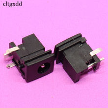 cltgxdd 5.0*1.65mm DC Power jack Switch Connector 0.5A 30V 3Pin DIP Audio Panel Mounting Socket for Sony PS2 TV LCP PC ect(China)
