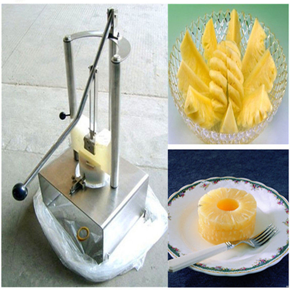 80mm 100mm pineapple peeling and coring machine pineapple processing machine80mm 100mm pineapple peeling and coring machine pineapple processing machine