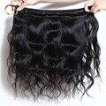 Malaio virgem onda do corpo do cabelo 3 pcs por lote cabelo humano tece natural preto personalizado 8-32 polegadas mista extensões de cabelo de comprimento