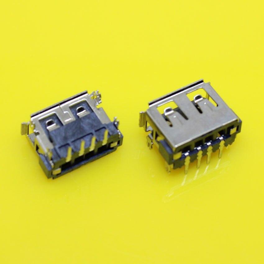 US-019 40pcs/lot USB Female Jack Commun Notebook 2.0 usb socket motherboard usb Jack Tablet PC 10mm 90 degree