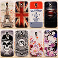20 picture 3D Relief Original Back Battery Housing Cover Hard Case Replacement for Samsung GALAXY S3 I9300 tower flower Skull
