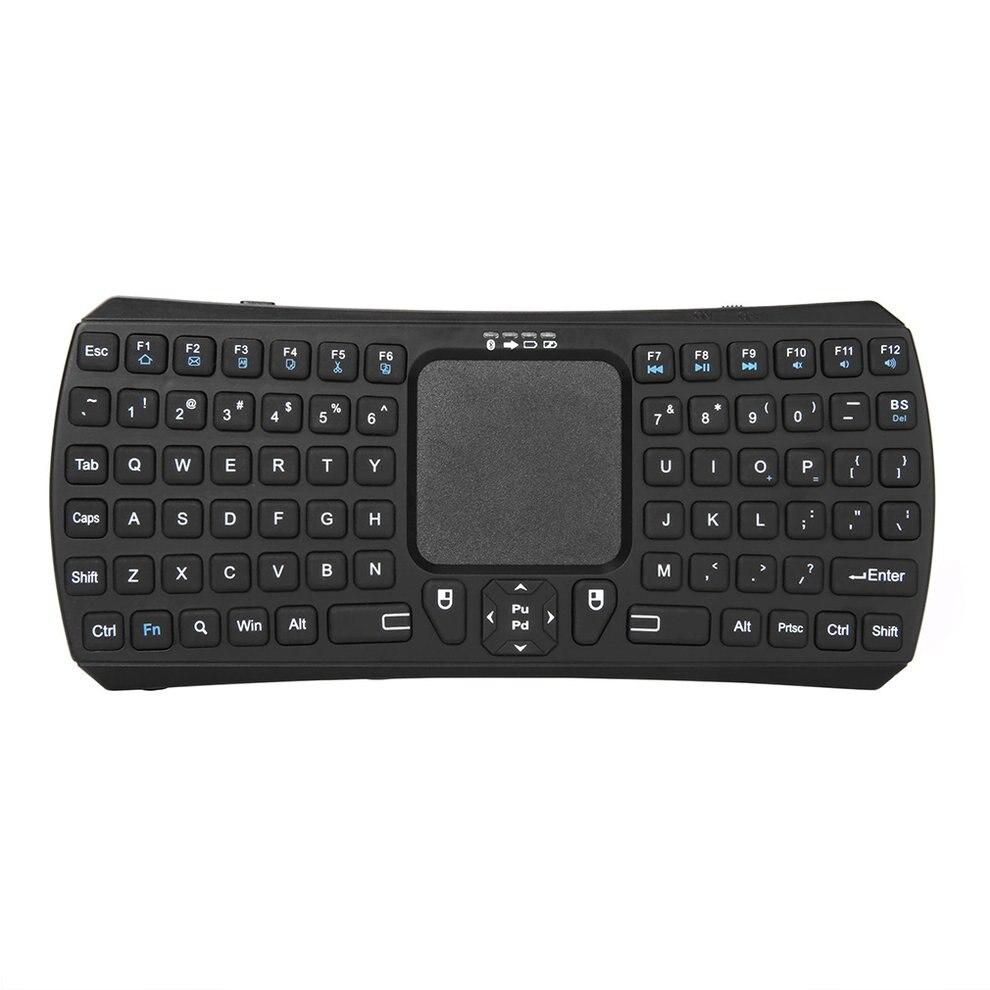 5 шт. эргономичная Дизайн мини Портативный Беспроводной 10 м Удаленная клавиатура Bluetooth с поддержкой Multi Touch Pad Мышь для Windows android iMac