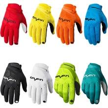 Перчатки для велоспорта полный палец спортивные противоударные MTB велосипедные перчатки мужские и женские велосипедные длинные пальчиковые мотоциклетные перчатки для мотокросса MX