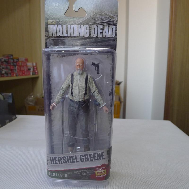 TT03-- McFarlane Toys AMC Walking Dead 5 Action Figure Hershel Greene New мегафон amc se116 продам киев
