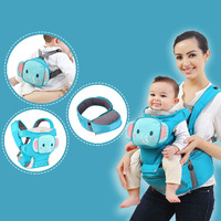 5 Style Ergonomic Baby Carrier Infant Baby Hipseat Carrier Front Facing Ergonomic Elephant Baby Wrap Sling for Baby Travel 0 36M