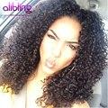 Грейс малайзии Странный Вьющиеся Переплетения Человеческих Волос 8А Класс Virgin Необработанные Virgin Волосы Малайзии Джерри Вьющиеся 4 Пучки