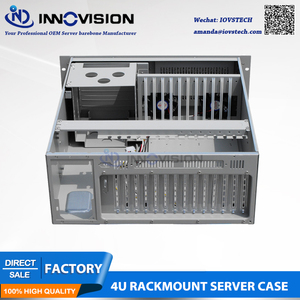 Image 3 - HQ 4U rack mount chassis IPC610H  with Visual & Audible Alarm Notification