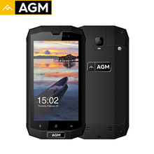 Original AGM A1Q Quad Core 4G Smartphone QUALCOMM MSM8916 64G ROM 4G RAM 5.0 Inch IP68 Water Dust Shock Proof Mobile Phones 13MP