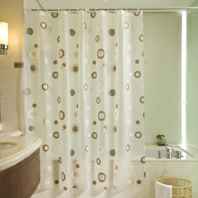 moda peva tenda della doccia ganci da bagno impermeabile tenda endless bagno di casa decorazione eco