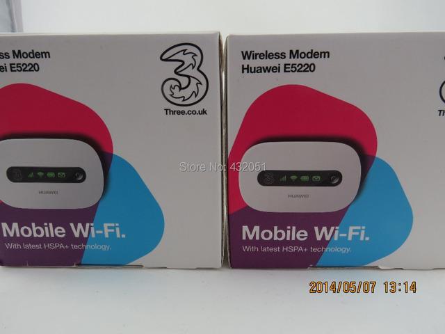 Huawei E5220s-2 Desbloqueado 3G GSM 21 Mbps Roteador Hotspot Móvel Novo