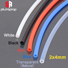 Ptfe-Tube Pipe Parts Filament 3d-Printer Bowden 1-Meter J-Head OD for 2x4mm-Id 2mm