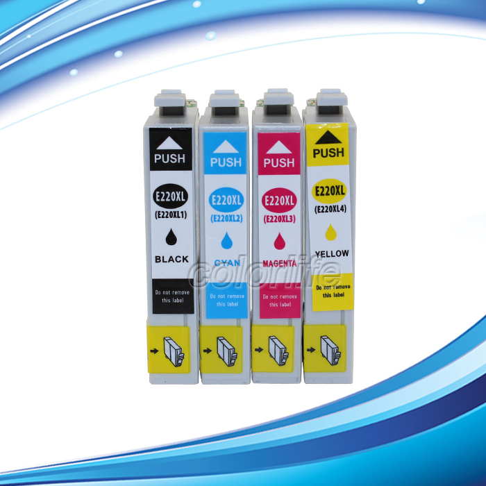Ink code 220 Replacement Ink Cartridges for Epson WorkForce WF 2630 All in One Printer not