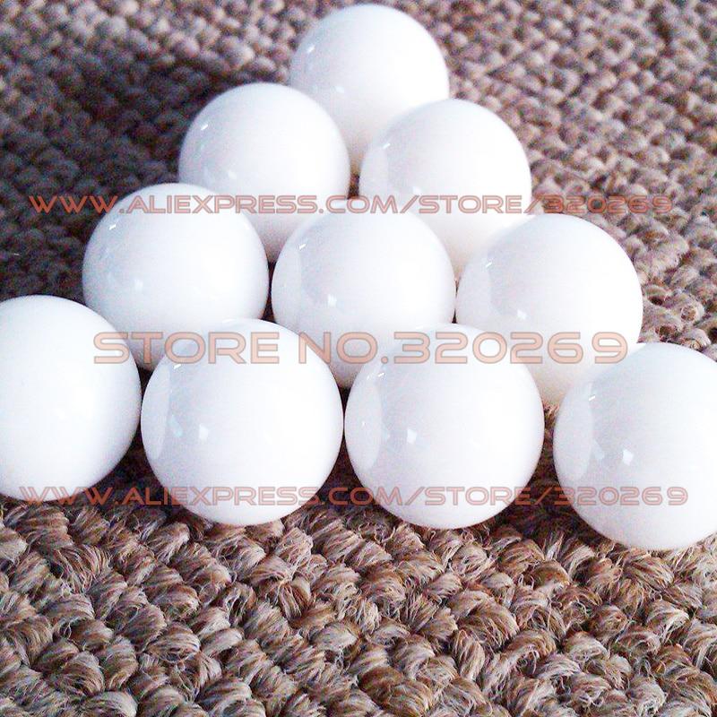 "50 PCS 1//4/"" 6.35mm Grade 5 ZrO2 Ceramic Bearing Ball Zirconia Oxide"