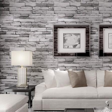 473a4ca841178 3D Modern PVC Madera Piedra Ladrillo Papel Pintado para paredes 3 d lujo  Clásico de La Vendimia de Fondo Salón Decoración de La Pared papel de  parede en ...
