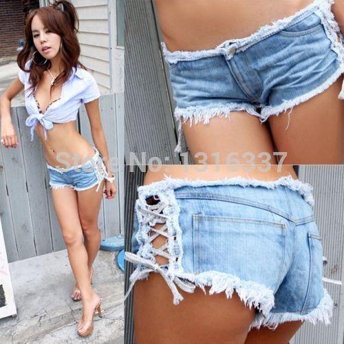 Aliexpress.com : Buy 2017 hot Sexy Girl Denim Jeans Clubwear Short ...