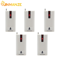 5pcs Lot 433MHZ Wireless Door Window Vibration Breakage Detector With Battery E30 Shock Sensor For Home