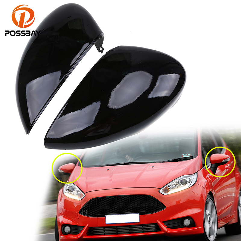 Left Side Wing Mirror Cover Cap Casing Primed For Ford Fusion 02 Fiesta 02-08