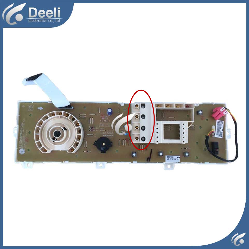 100% new for LG washing machine board display board WD-N10300D Computer board Only one side control board computer board wd n90105 6870er9001 used