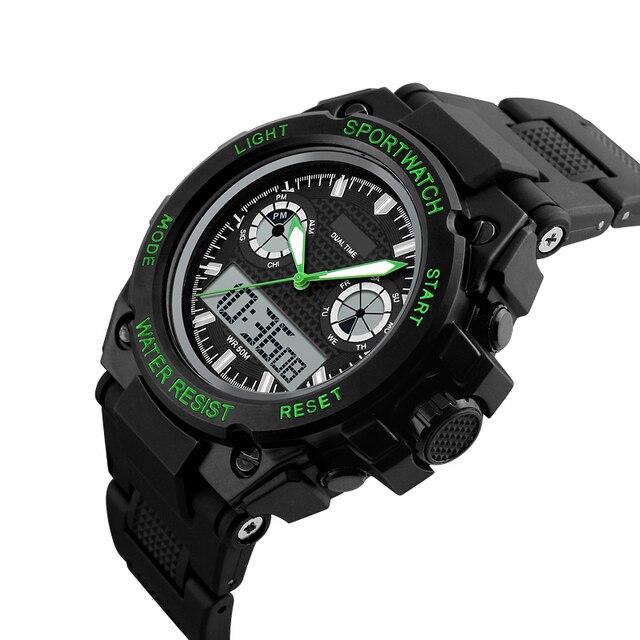 Men's LED Digital Watch Men Sports Automatic waterproof watch Men Fashion Watch top quality clock army wristwatch military shock