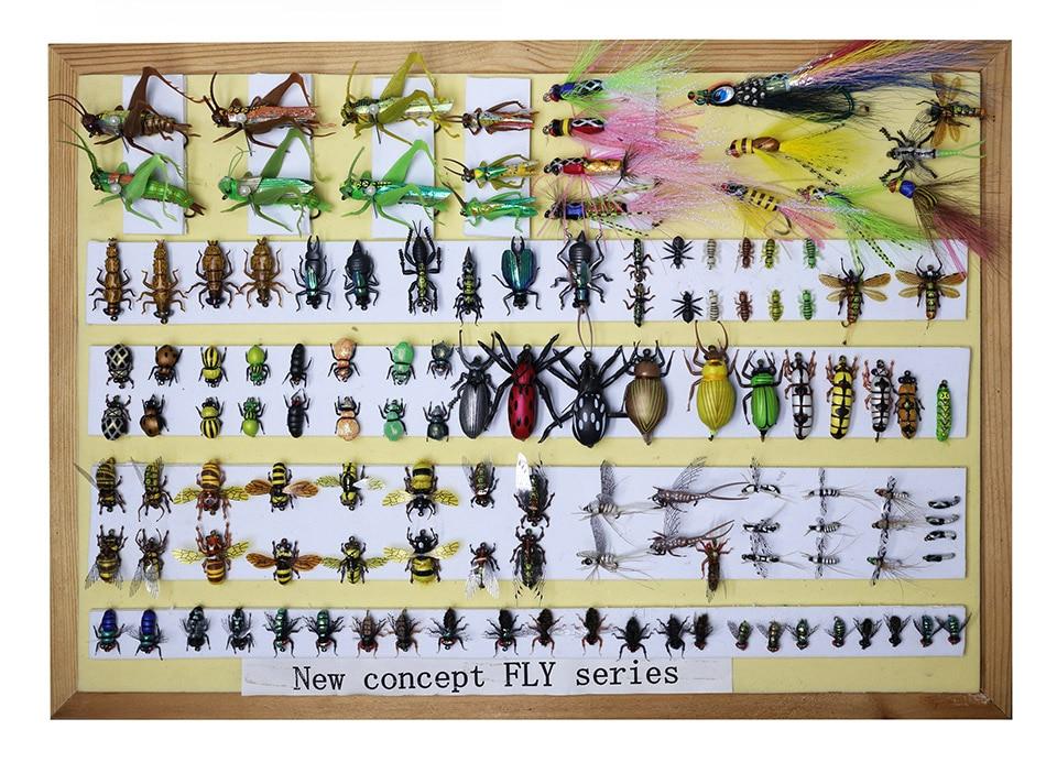 Yazhida Global Fly Fishing Fans Flies Collection Plan global global adv workbook