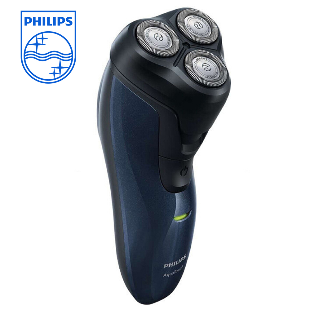 PHILIPS Wet and Dry Rotary Floating Heads Waterproof Razor with Beard Trimmer Rechargeable Electric AT620 Shaver MachinePHILIPS Wet and Dry Rotary Floating Heads Waterproof Razor with Beard Trimmer Rechargeable Electric AT620 Shaver Machine
