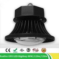 Highbay Led Light 80W 100W 120W 150W 200W 85 265v IP65 Led Pendant Lamp IP65 Low Bay Lighting Warehouse Hanging Lowbay Lights
