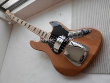 free shipping high quality Top Musical instruments natural Wood color 4 strings bass Guitar 31 Real photos