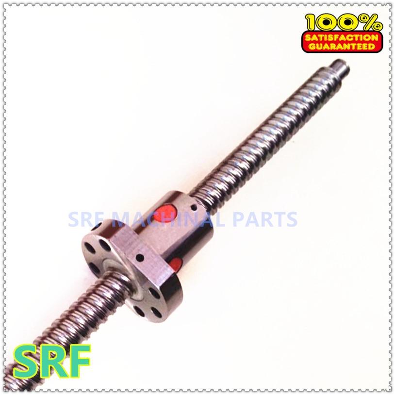 ФОТО New 1pcs 16mm lead ballscrew  RM1610 Rolled Ballscrew  L=1400mm +1pcs SFU1610 ball nut for CNC part