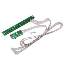 Universal 7 Keys V29 V56 V59 TV Switch Keypad Board With Interface