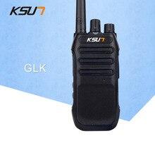 KSUN-GLK Handheld Walkie Talkie 5W High Power UHF Handheld Two Way Ham Radio Communicator HF Transceiver Amateur Handy цена и фото