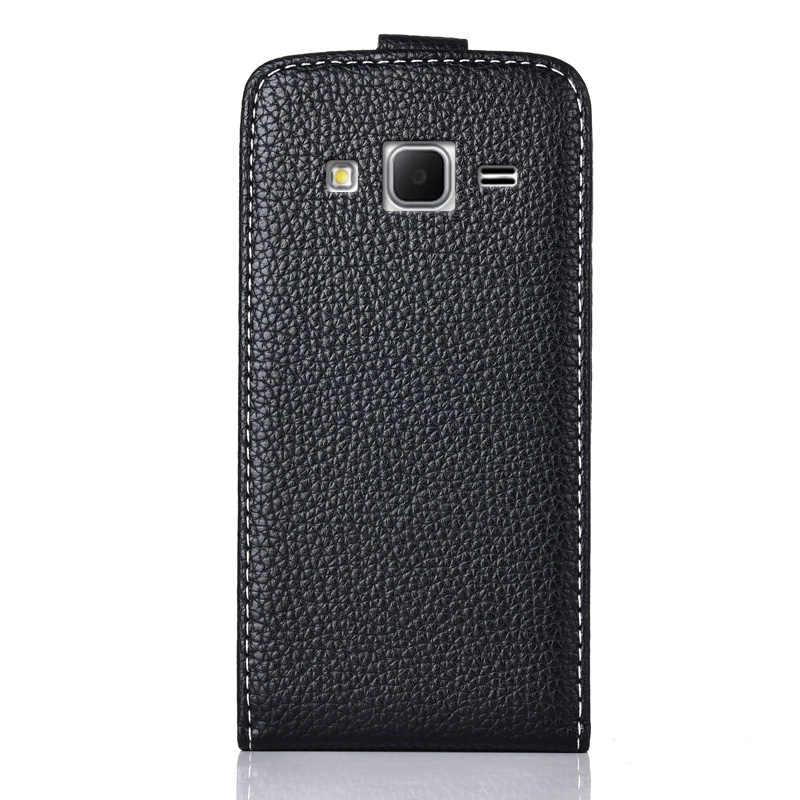 Untuk Samsung GALAXY CORE Prime VE SM-G361H G361 SM-G360H G360 Kasus TPU Flip Kulit Vertikal Kasus Kartun Lembut Penutup Belakang
