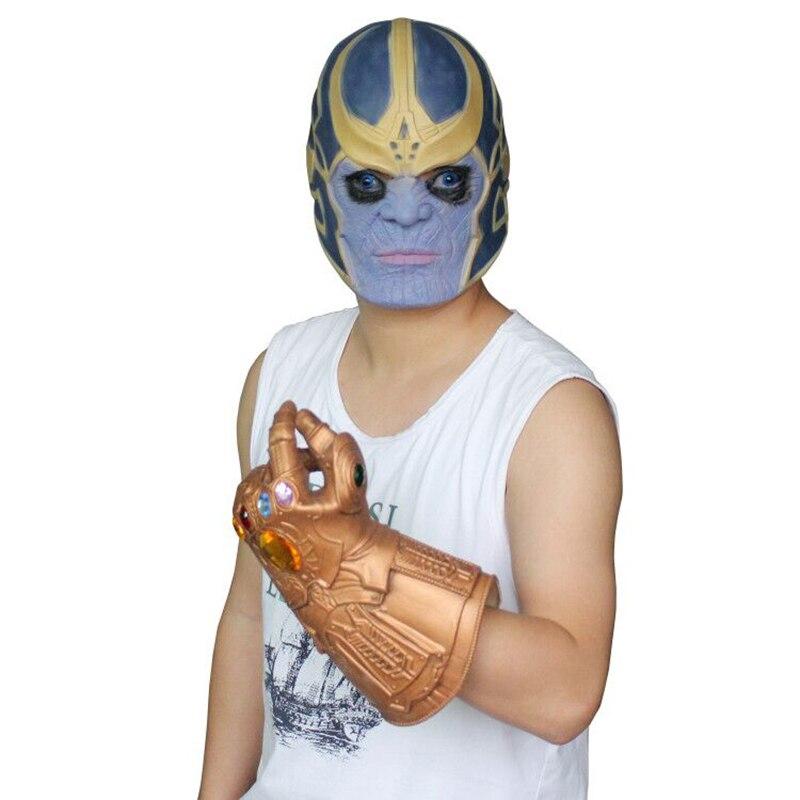 Boy Thanos Costumes Clothing Set Avengers Infinity War
