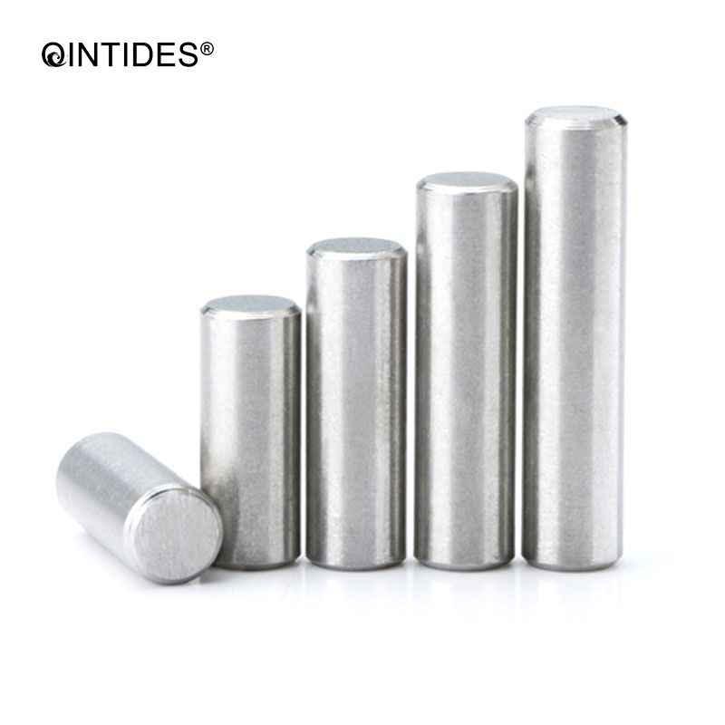 QINTIDES M10 Parallel pins สแตนเลสทรงกระบอก pin ตำแหน่ง pins GB119 M10 * * * * * * * 8/10/12 /14/16/18/20/22/25