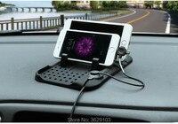 Multi-funcional USB Carregador de Telefone Móvel de Navegação do Carro Anti-Slip Mat para Opel astra zafira corsa insignia Mokka vectra