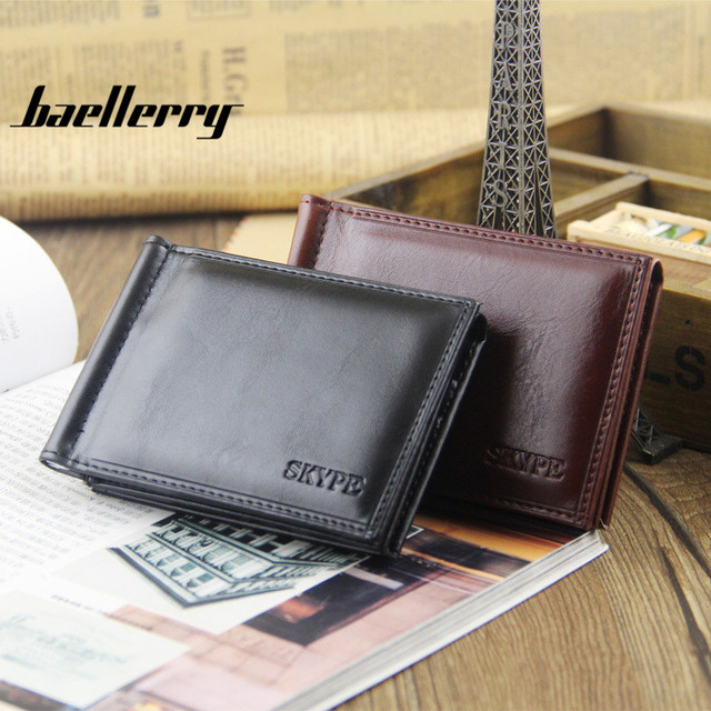 e0f4f9af0967 2017 New Baellerry Fashion High Quality Personalized Wallet Money Clip  Wallet High Cost Performance Money Bag Purses Monederos