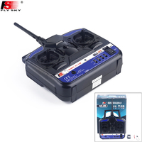 FlySky FS T4B 2.4G 4CH Radio Control RC Transmitter & RC Receiver for RC Airplane Parts