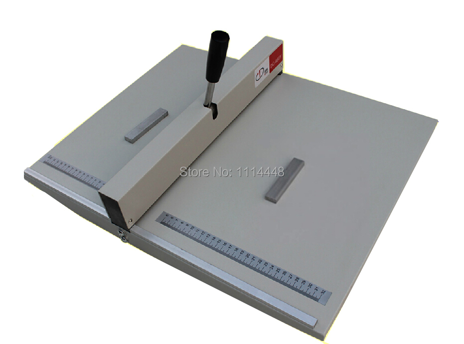 18 A3 460mm Heavy Duty All Metal Manual Paper Creasing Scoring Machine Card Scorer Creaser deli 0150 heavy duty punchers two hole loose leaf paper 150sheets 80g manual punchers