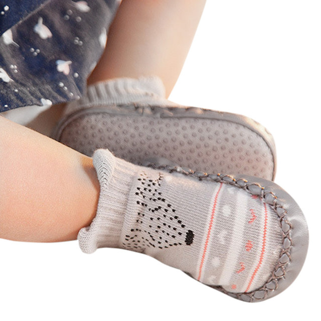First Walkers non-slip cotton toddler shoes