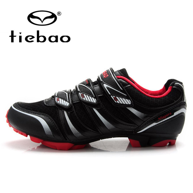 TIEBAO Professional Men Women Bicycle Cycling Shoes Self Locking MTB Mountain Bike Shoes Breathable Sport Shoes