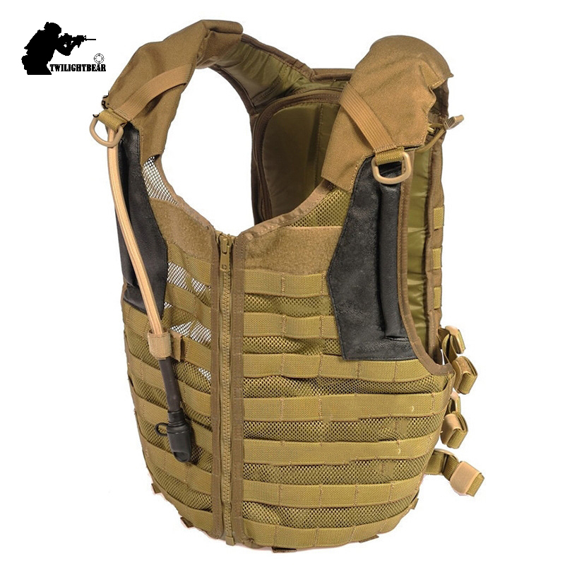 Military Delta Tactical Vest Top Quality 1000D Bladder XForce MOLLE System Military Protective Equipment 3L Water Bag BE013