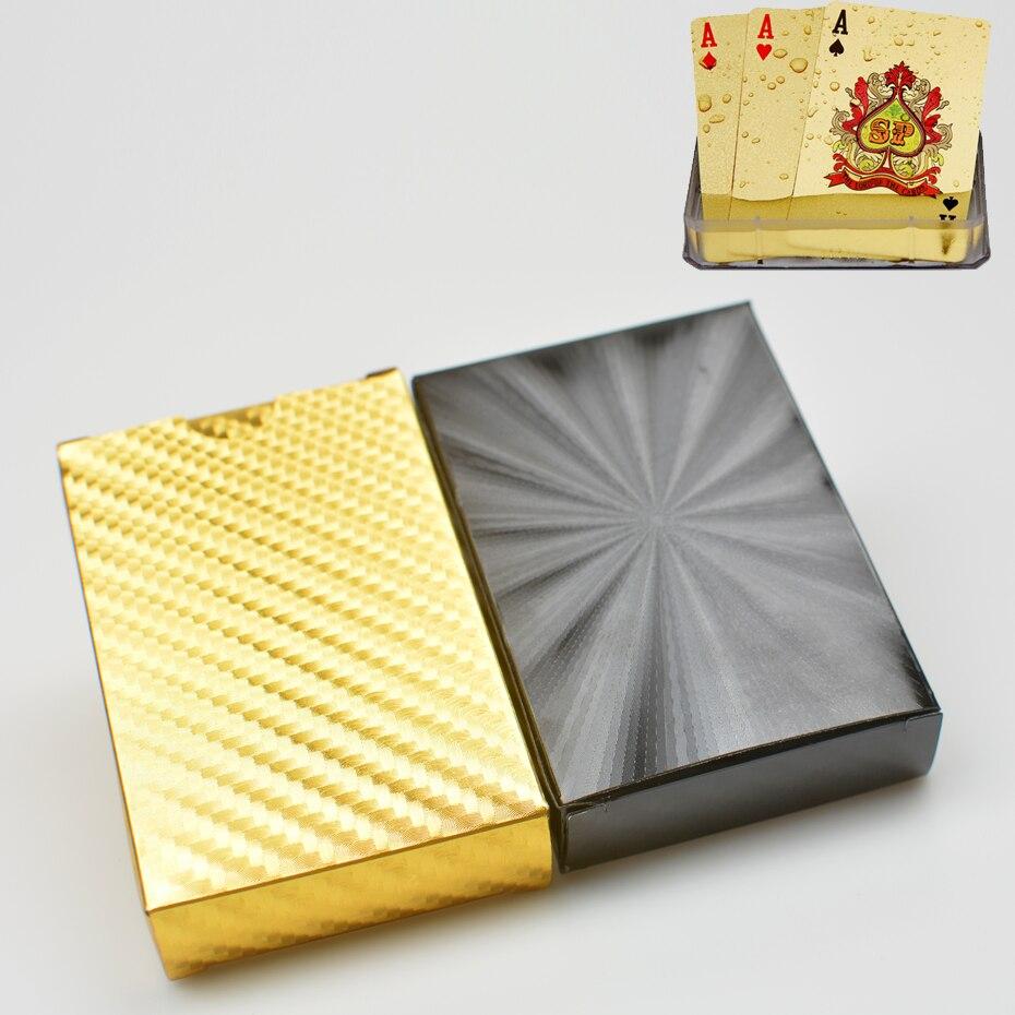 2 unids/set de cartas de póker de plástico de calidad a prueba de agua negro dorado Colección de Edición limitada tarjetas de póker de diamante regalo creativo Herramientas de apicultura de marca Bee Queen, jaula apícola de plástico, marcador de plástico, captura de botella de plástico sin dolor, 1 unidad