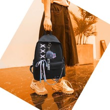 Black BTS Students Backpack [14 Designs]