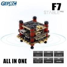 GEPRC 안정적인 프로 F7 듀얼 BL 35A 플라이 타워/안정 V2 F4 비행 컨트롤러 + 35A /30A ESC + 5.8G 500mW VTX for FPV Racing Drone