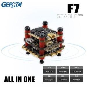 Image 1 - Geprc安定したプロF7 デュアルbl 35A flytower/安定したV2 F4 フライトコントローラ + 35A /30A esc + 5.8 グラム 500mw vtxためfpvレースドローン